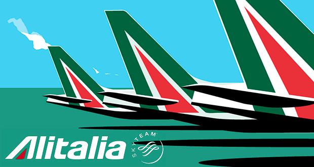 Скидка 20% от Alitalia на перелеты в Европу, Северную Африку и Ближний Восток: из МСК и СПб от 9600₽ туда-обратно