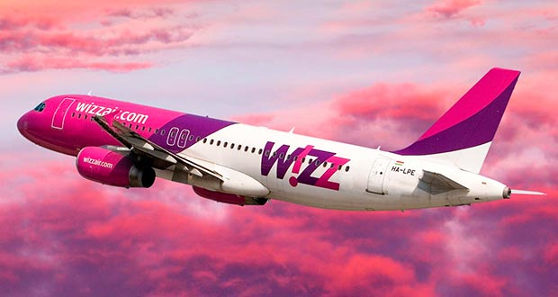 Хит! Дешевые рейсы Wizz Air из СПб в Лондон за 2900₽, из МСК в Дебрецен за 3500₽ туда-обратно осенью