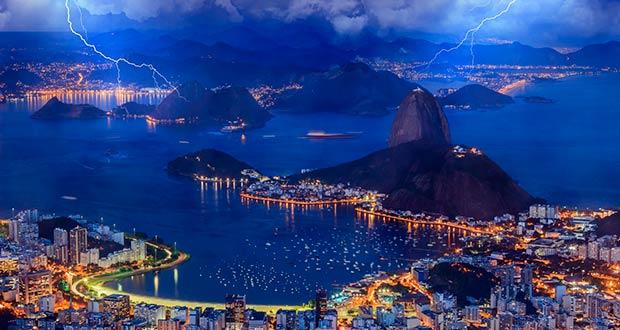 В Бразилию через Францию за 28500₽! Сборка из Москвы: Париж+Рио в марте 20-го.