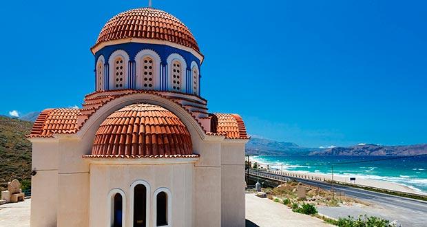 На 4 ночи в Грецию (Крит) всего от 8600₽/чел. (тур из Мск в июне)