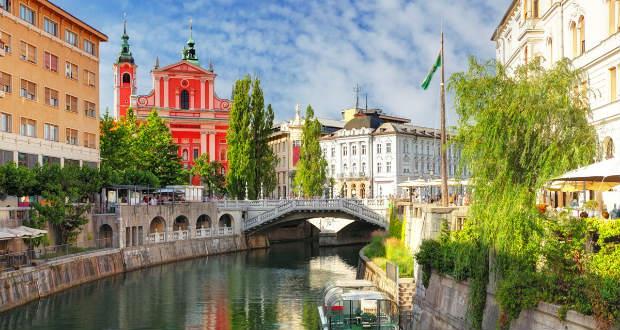 Прямые перелеты в Любляну из Москвы 11400₽ туда-обратно (а/к Adria)