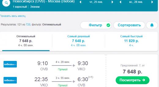 Авиабилеты из новосибирска в москву дешево туда где забронировать отель в словении в спб