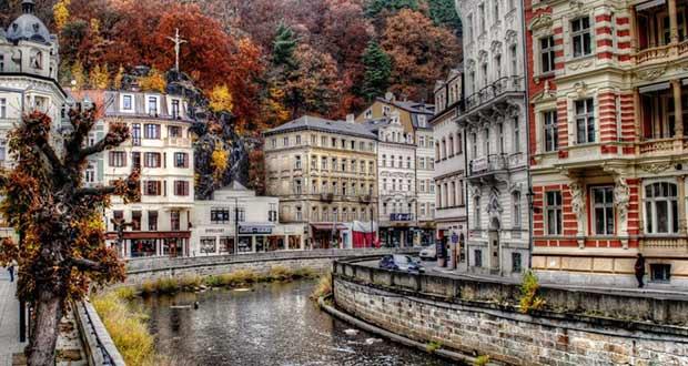 Karlovy vary Карловы вары Чехия