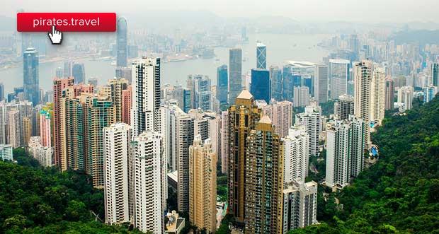 Дешевые билеты S7: в Гонконг из Москвы от 24400₽ туда-обратно