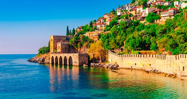 Горящие туры из Москвы в Турцию на неделю всего от 10800₽ на человека