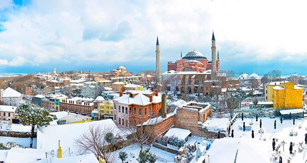 Билеты Победы в декабре и январе в Стамбул из МСК от 6300₽ туда-обратно