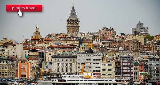 Новое направление Победы: из Краснодара в Стамбул. Есть по 500₽
