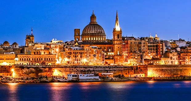 Зимой на острова: Мальта или Пафос за 3600₽ туда-обратно! Ryanair: дешевые билеты из Таллина